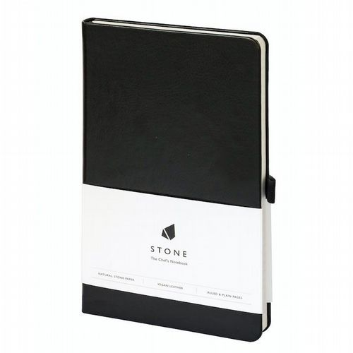 Water & Greaseproof Chef's Notebook - Black